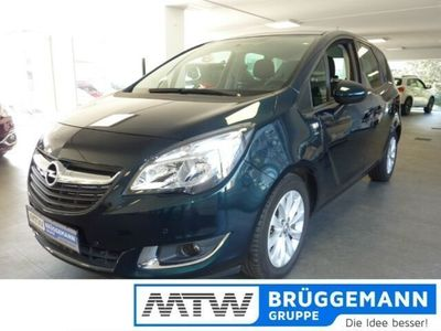 gebraucht Opel Meriva B drive 1.4 Turbo Anhängerkupplung abnehmbar