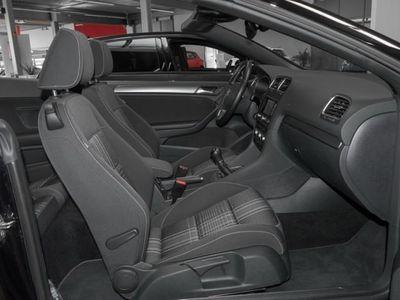 gebraucht VW Golf Cabriolet VI 1.6 TDI Lounge Navi LichtSicht