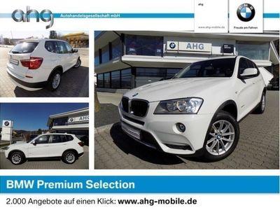 gebraucht BMW X3 xDrive20d Navi Business AHK PDC Durchlade NSW