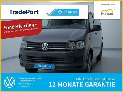 gebraucht VW Transporter T6Kombi TDI DSG Klima AHZ 9-Sitzer