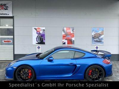 gebraucht Porsche Cayman GT4 Deutsch Clubsport Klappe