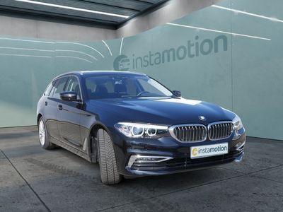 gebraucht BMW 520 520 dA Touring Luxury Line PANO+LEDER+NAVI+MEM+LE