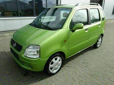 gebraucht Opel Agila 1.2, 55KW, KLIMA, ZV, ALUFELGEN, TÜV 08.2023