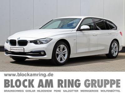 gebraucht BMW 318 d Touring Sport Line Sport Line Sportpaket Navi