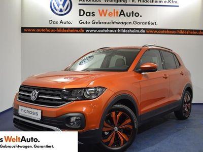 gebraucht VW T-Cross - Life 1,0l TSI OPF EU 6d-TEMP, Navi, DAB+,