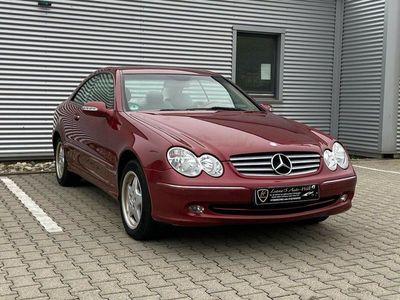 gebraucht Mercedes CLK270 CLK 270 CLK CoupeCDI Leder Navi Tüv/Au 06.2021