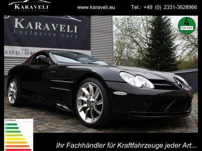 gebraucht Mercedes SLR McLaren Roadster/Deutsches Fahrzeug/Black