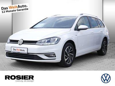 gebraucht VW Golf VII Variant VII 1.6 TDI DSG Join Navi SHZ Einpa