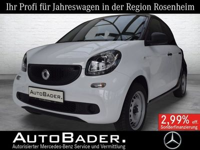gebraucht Smart ForFour 52kW Cool & Audio Tempomat LED KomfortPa Styling