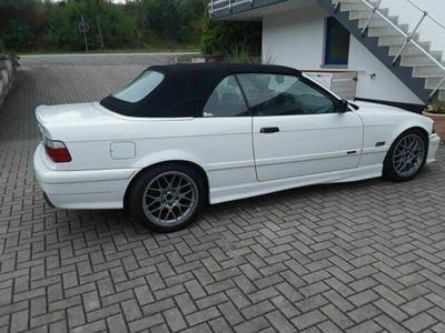 gebraucht BMW 328 Cabriolet E36 i M Paket M52B28 Handsch...