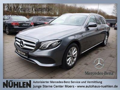gebraucht Mercedes E200 T-Modell AVANTGARDE+LED+Navi+BC Sitzhzg.