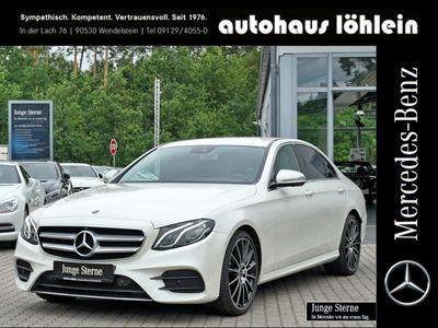 used Mercedes E300 Lim AMG Line Burmester+Spur-P.+360°+LED