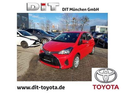 gebraucht Toyota Yaris 1.3 Dual-VVTi Comfort *5 Jahre Garantie*Tagfahrlicht*Radio*USB*