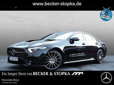 gebraucht Mercedes CLS400 d 4M AMG Cp. 360° Burm HUD SHZ hi. Servo AMG Line
