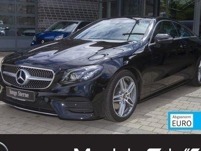 gebraucht Mercedes E300 Coupé AMG 9G MultiLED Pano Kam LederRot