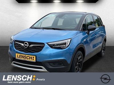 gebraucht Opel Crossland X 2020 1.2T LED+NAVI+ALLWETTER+RÜCKFAH