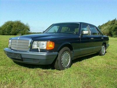 gebraucht Mercedes 350 MBSDL Turbo-Diesel W126 S-Klasse H-Ke...