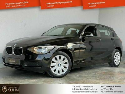gebraucht BMW 116 i*KLIMA*EINPARKHILFE*4 5-TÜRER*2.HAND*