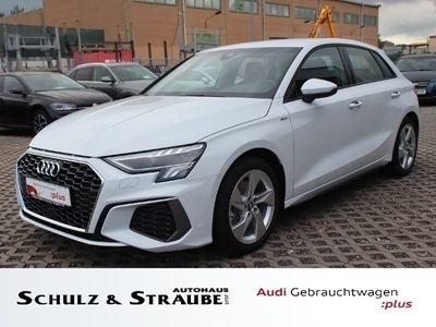 gebraucht Audi A3 Sportback S line 35 TDI KLIMA LED ALU SPHIF
