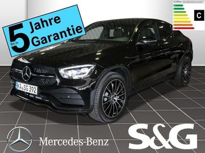 gebraucht Mercedes GLC300 4M Coupé AMG-Line LED/360°/Schiebed/AHK/