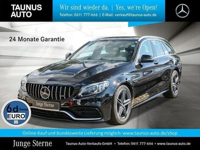gebraucht Mercedes C63 AMG AMG T COMAND PANO MULTIBEAM ABGAS DISTRONIC