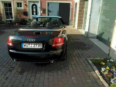 gebraucht Audi A4 Cabriolet Verkaufe 2,0 Diesel als Cabrio/Roadster in Ochsenfurt