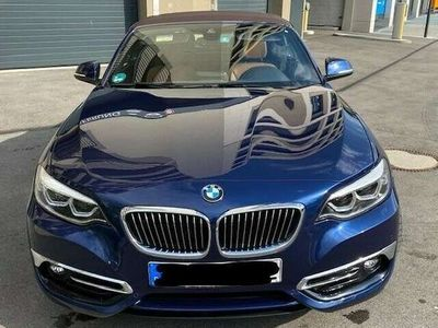 gebraucht BMW 230 2er Cabrio Aut. Sport Line