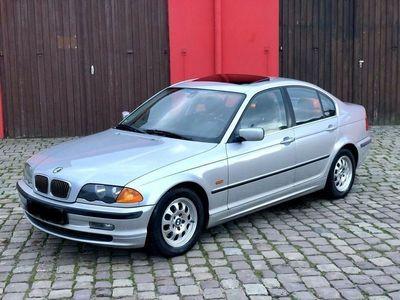 gebraucht BMW 323 i E 46*Automatik* Rote-Voll-Leder* Schiebedach *AHk*Tüv*
