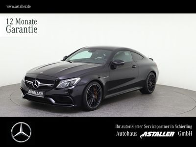 gebraucht Mercedes C63 AMG AMG S Coupe Driver´s+Perf.Sitze+Abgas+Night