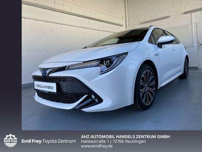 gebraucht Toyota Corolla Hybrid 2.0 Hybrid Touring Sports Team Deutschland 132 kW, 5-türig (Benzin/Elektro)