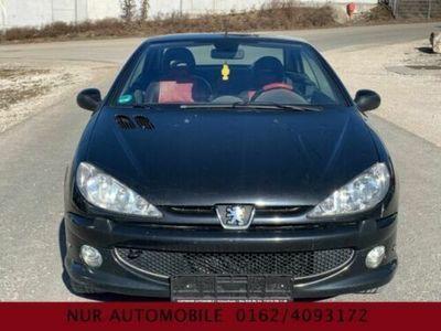 gebraucht Peugeot 206 CC **KLIMAAUTOMATIK**VOLLEDER**CABRIO**