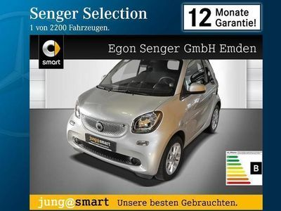 gebraucht Smart ForTwo Cabrio 66kW turbo twinamic