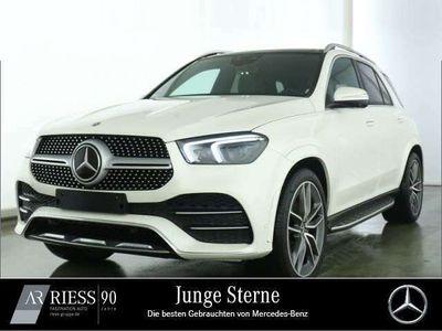 gebraucht Mercedes GLE400 d 4M AMG Pano Distr AHK Multi Bur Airm