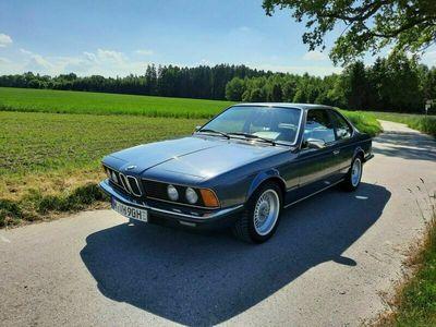 gebraucht BMW 628 CSi arktis-blau metallic H-Kennzeichen
