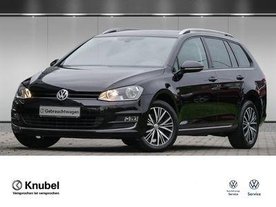 gebraucht VW Golf VII Variant Allstar 1.6 TDI Navi Klima Sitzh. GRA
