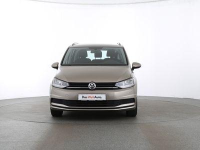 gebraucht VW Touran Trendline 1.6 TDI BMT | 7SITZE SITZH. schwarz