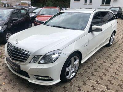 gebraucht Mercedes E500 T-ModellCGI BlueEfficiency AMG Paket