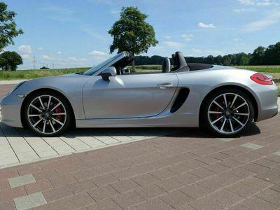 gebraucht Porsche Boxster S GT-silb., Sport-Chrono, SportAGA