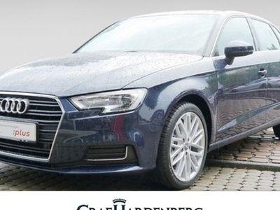 gebraucht Audi A3 Sportback design Xenon Einparkh. v+h Klimaautom. Multifkt-Lenkr. Sitzh. Temp Regensens. Freisprech