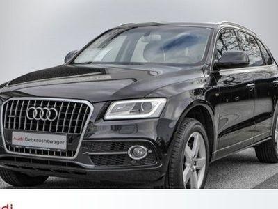 gebraucht Audi Q5 2,0 TDI S line quattro S tronic NAVI-PLUS AHK