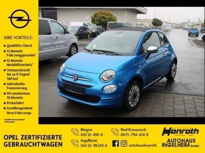 gebraucht Fiat 500C 500 Cabrio Mirror 1.2 8V Klimaanlage, Tempomat