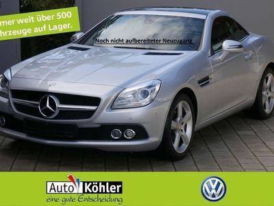 gebraucht Mercedes SLK200 BlueEfficiency CGi Kopfraumheizung Airscar