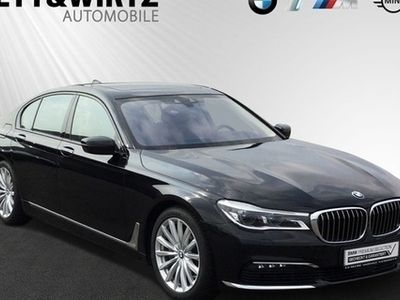 käytetty BMW 750 d xDrive SAG HUD Navi Laser 19'' WLAN RKamera