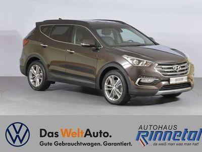 gebraucht Hyundai Santa Fe 2.2 CRDi DPF Automatik Premium blue 4WD als SUV/Geländewagen/Pickup in Rudolstadt