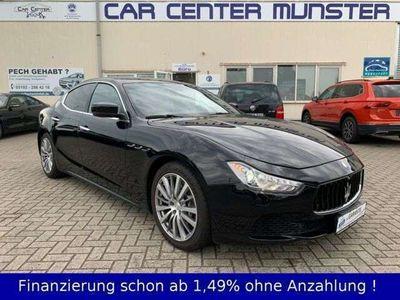 gebraucht Maserati Ghibli 3.0 V6 Automatik Navi Kamera Leder