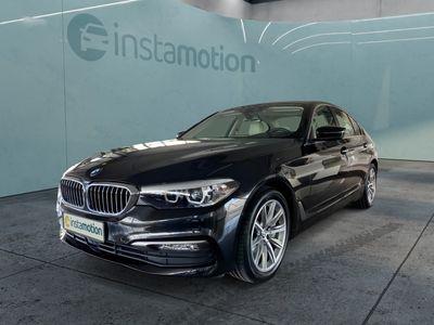 gebraucht BMW 540 540LED-Scheinwerfer Navi HUD Panoramadach Verkehrzeichenerkennung