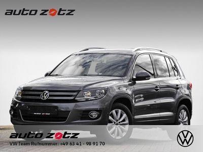 gebraucht VW Tiguan Sport + Style 2.0 TDI DSG 4Motion Navi AHK