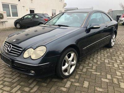 gebraucht Mercedes CLK270 Coupe CDI Avantgarde