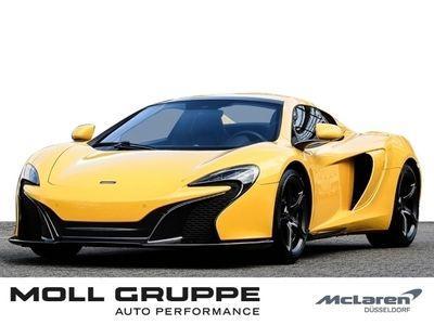 gebraucht McLaren 650S Spider Elite Volcano Yellow, Sports Exhaust
