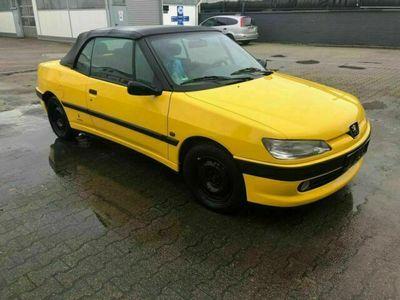 gebraucht Peugeot 306 Cabriolet TÜV neu Allwetter Reife...